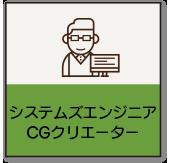 システムズエンジニア・CGクリエーター・ゲームクリエーター